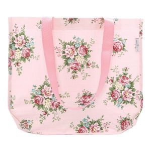 GreenGate Shopper Bag Aurelia pale Pink round bottom