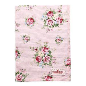 GreenGate Tea Towel – Viskestykke – Aurelia Pale Pink