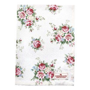 GreenGate Tea Towel – Viskestykke – Aurelia white