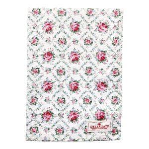 GreenGate Tea Towel – Viskestykke – Malene petit White
