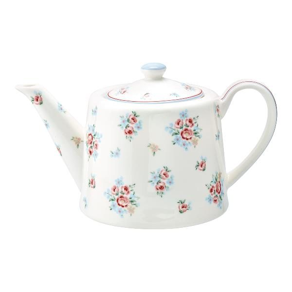 GreenGate Teapot – Tekande – Nicoline White