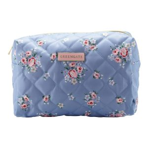 GreenGate Wash bag – Toilettaske – Nicoline Dusty Blue