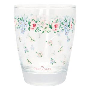 GreenGate Water Glass – Vandglas – Melina White