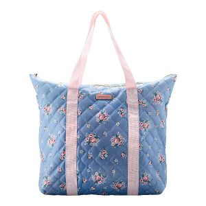 GreenGate Bag - Stor Taske - Nicoline dusty blue