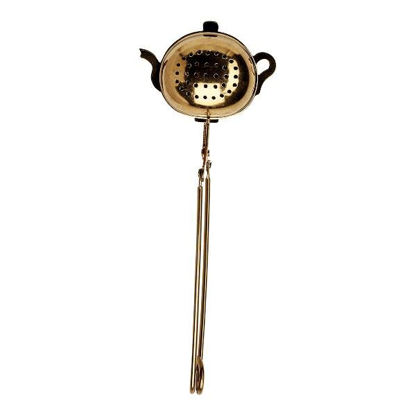 GreenGate Tea infuser - Teæg - Teapot gold