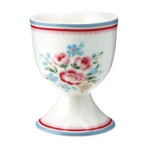 GreenGate Egg Cup – Æggebæger – Nicoline White