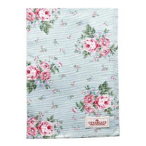GreenGate Tea towel – Viskestykke – Marley Pale Blue