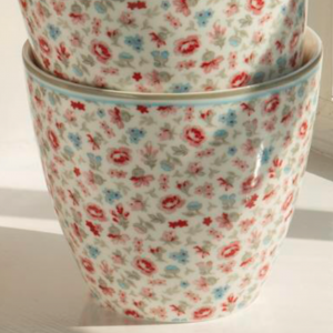 GreenGate Latte cup Tilly white - Limited Edition
